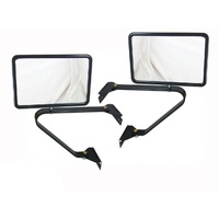 Door Mirrors Towing Hilux Courier Triton Rodeo Long Arm Cab Ute Wide Tray Back