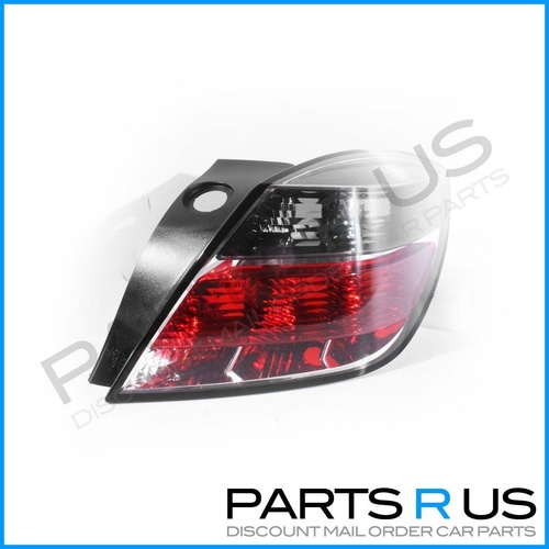 Holden Astra AH 04-10 3Door Hatch Red & Clear/Tinted RHS Right Tail Light ADR