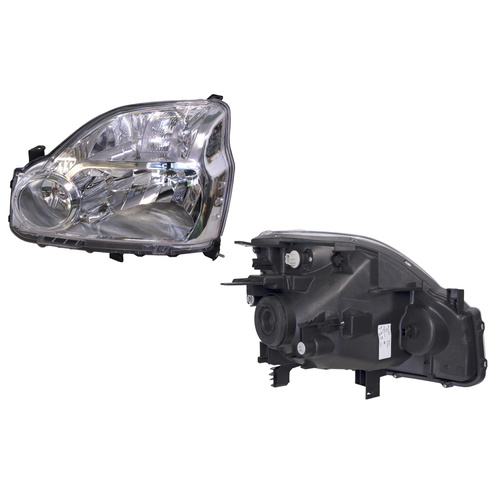 Headlight Nissan X-Trail T31 Left Hand 9/07 - 7/10 Halogen Type