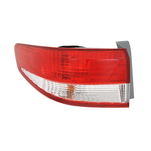 Honda Accord 02-06 CM-7 Series 1 Sedan Red & Clear LHS Left Tail Light Lamp
