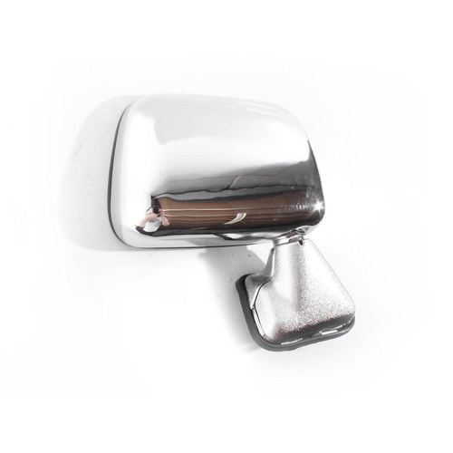 Toyota Hilux 88-97 2WD & 4WD Chrome RHS Right Skin Mount Door Wing Mirror